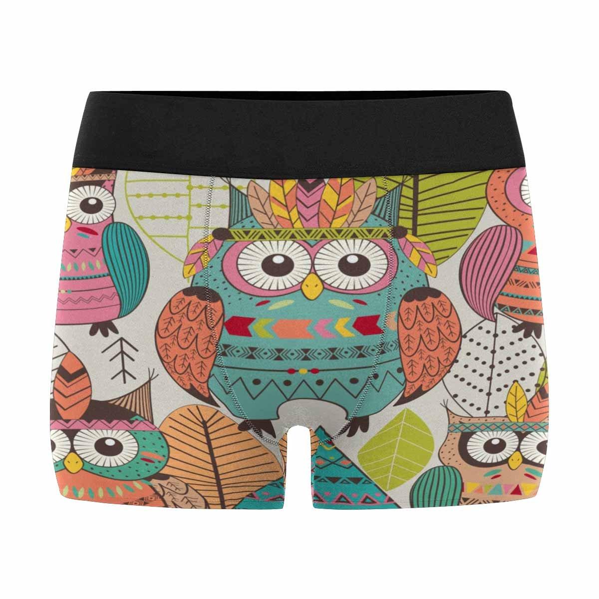 INTERESTPRINT Mens Boxer Briefs Underwear