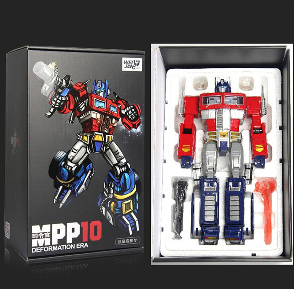 Transformer Weijiang Oversized MPP10B oversized Optimus Prime new in box