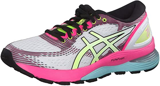 Asics Gel-Nimbus 21 Sp - Zapatillas de running para mujer, color blanco, color, talla 44 EU: Amazon.es: Deportes y aire libre