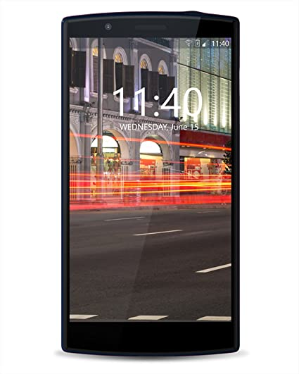 Hyve Buzz Android Smartphone (Midnight Blue, 16GB) Smartphones at amazon