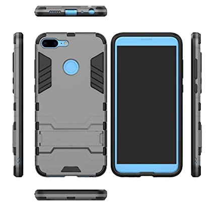 best website 809b4 37d06 TecKraft Hard Case Kickstand Back Cover for Honor 9: Amazon.in ...