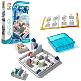 SmartGames Atlantis Escape; a 3D Path-Building Travel Game for Kids and Adults, a STEM Focused Cognitive Skill-Building Brain Game - Brain Teaser for Ages 8 & Up, 60 Challenges.