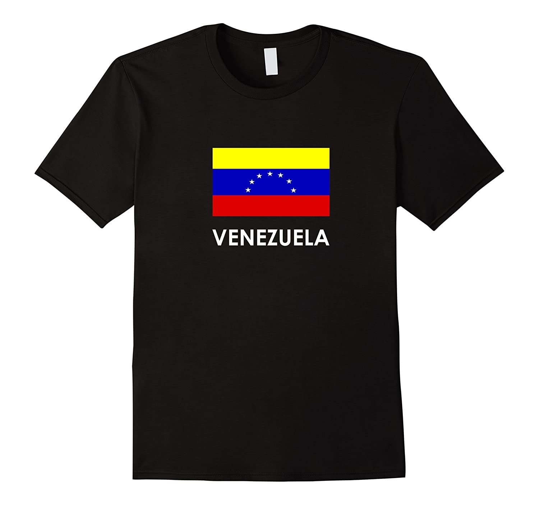 VENEZUELA Flag T Shirt for Venezuelans loving Americans-Vaci
