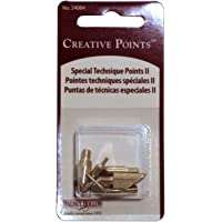 Walnut Hollow Replacement Points Tips for Woodburners and Hot Tools, Set No.2