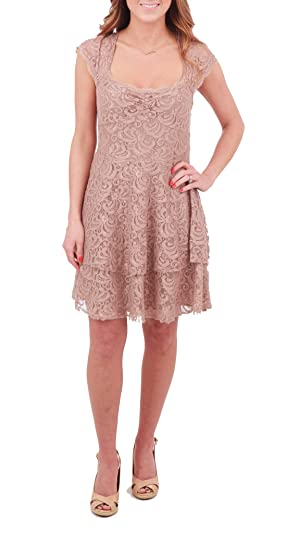 Free People Rock Candy Dress,Taupe,8