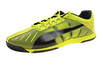 8e62afb8ffa PUMA Men s and Youth Big Boys Neon Lite 2.0 Indoor Soccer Shoes (Euro 35.5