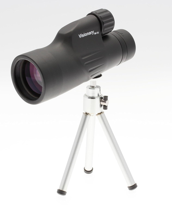 Visionary 10x50 M10 Monocular Waterproof with Tripod Tripod with [Vi 330595 ] 3e4903