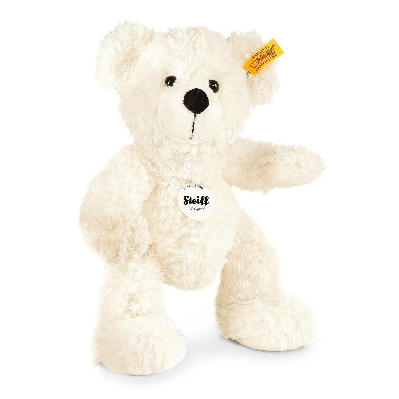 Steiff 111310 - Teddybär 28 cm Lotte weiss Teddys Plüschartikel / Kuscheltiere