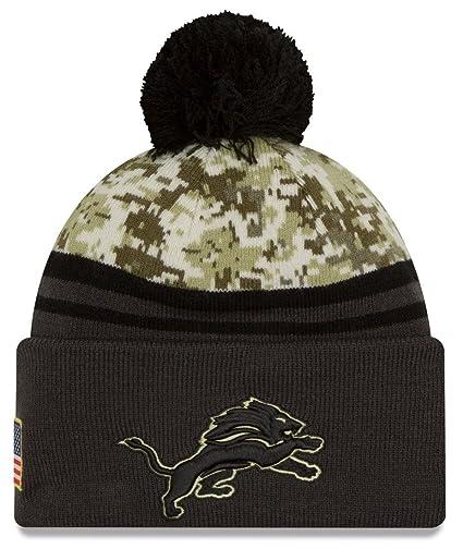 lowest price 95be0 78c00 ... new zealand detroit lions new era 2016 nfl sideline quotsalute to  servicequot sport knit hat 22bfb