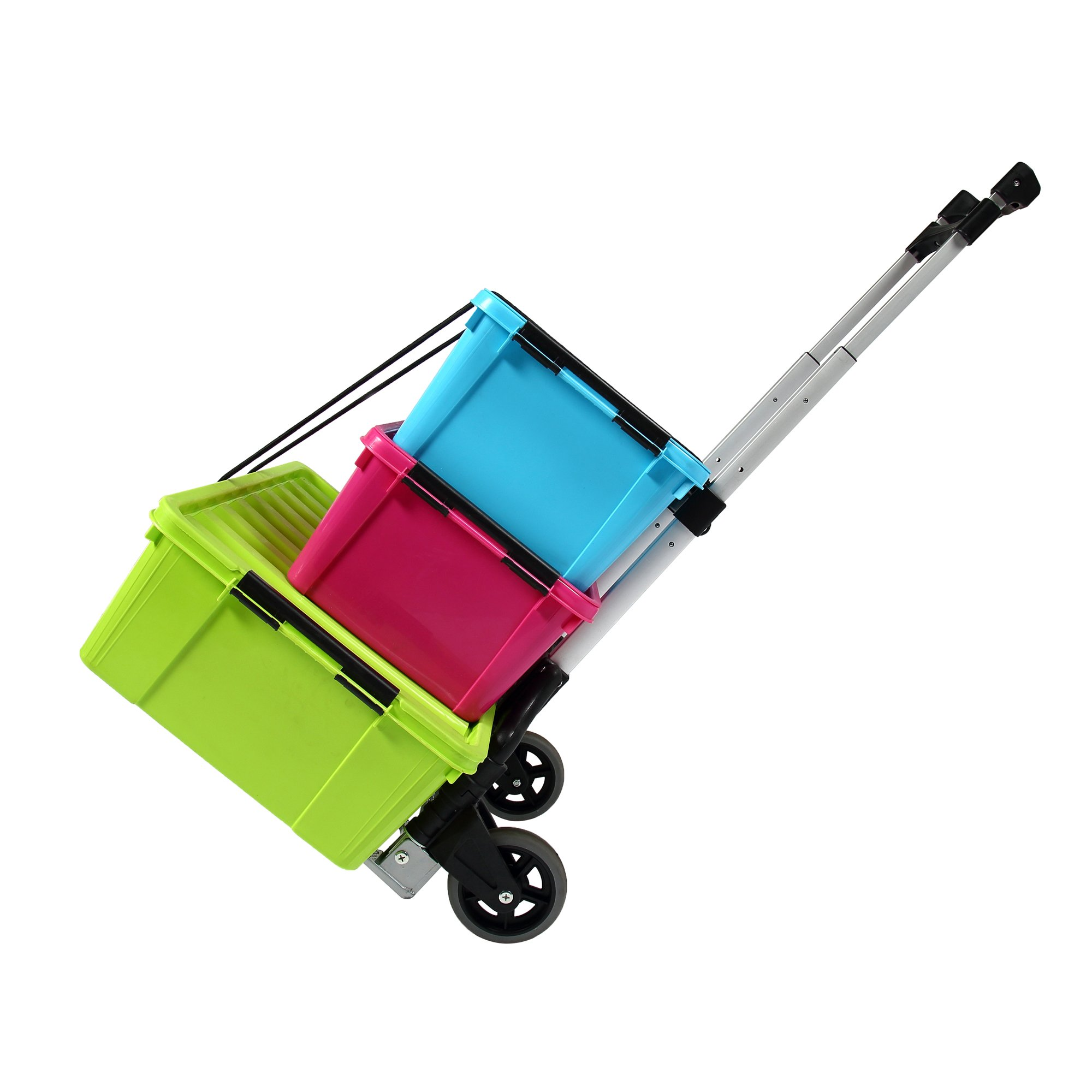 KingCamp Folding Cart 150 lbs Capacity Hand Truck with Bungee Cord by KingCamp (Image #6)