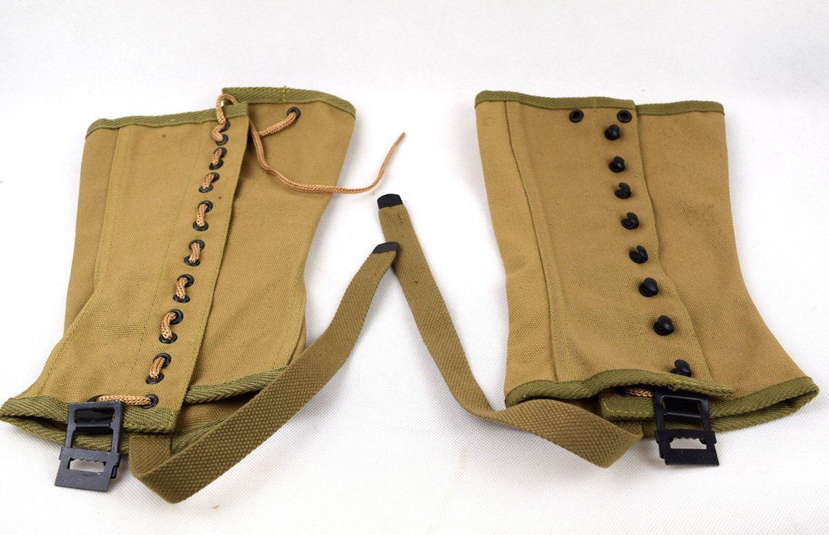 Replica WWII US Canvas Pants Gaiter Leggings Puttee by Chengxiang (Image #2)