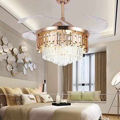 ONEKISS Crystal Ceiling Fan
