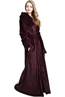 3e5c2f700a ... Floor Length Bathrobes. 4.0 out of 5 stars 32 ·  39.90 -  54.90 · Find  Dress Extra Long Plush Fleece Robe Thicken Soft Warm Bathrobe