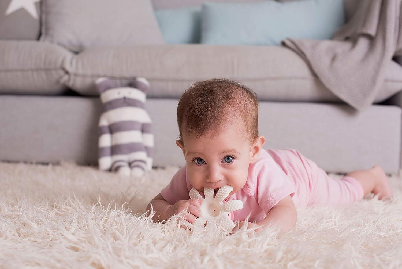 Baby-To-Love Gioco per la dentizione Polipo 3D Blu