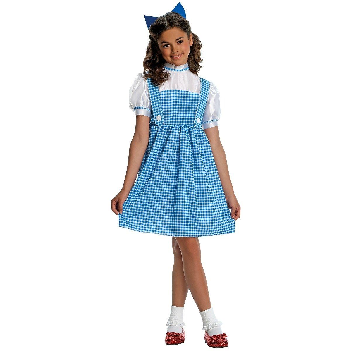 Amazon.com: Wizard of Oz Child's Deluxe Sequin Dorothy Costume ...