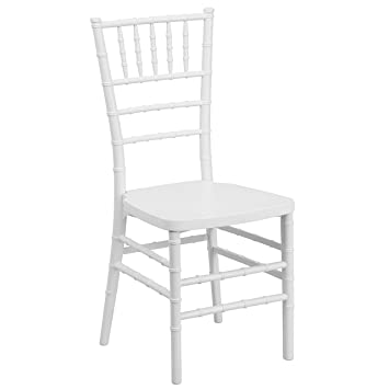 flash furniture hercules premium series white resin stacking chiavari chair