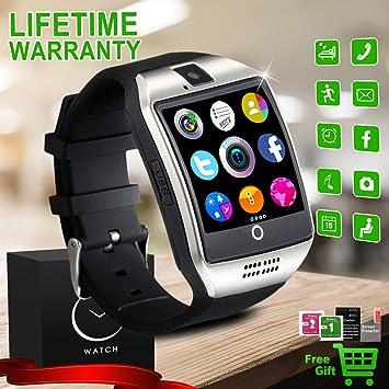 Reloj Inteligente Bluetooth, Impermeable Smartwatch con Camara ...