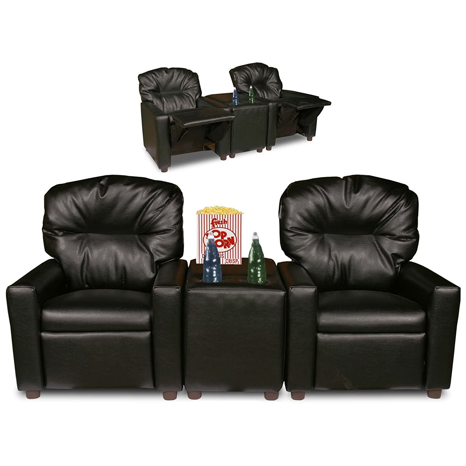 Amazon.com Dozydotes Kids 2 Seat Theater Seating Recliner Kitchen u0026 Dining  sc 1 st  Amazon.com & Amazon.com: Dozydotes Kids 2 Seat Theater Seating Recliner ... islam-shia.org