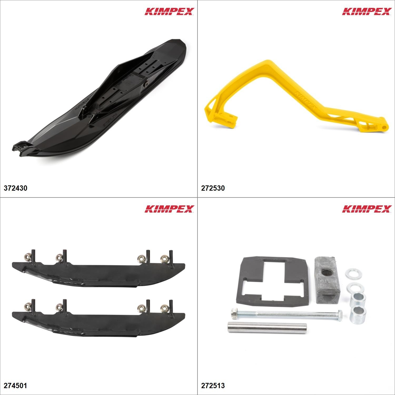 Kimpex - Ski Stealth Kit - Black, Polaris Super Sport M10 2006