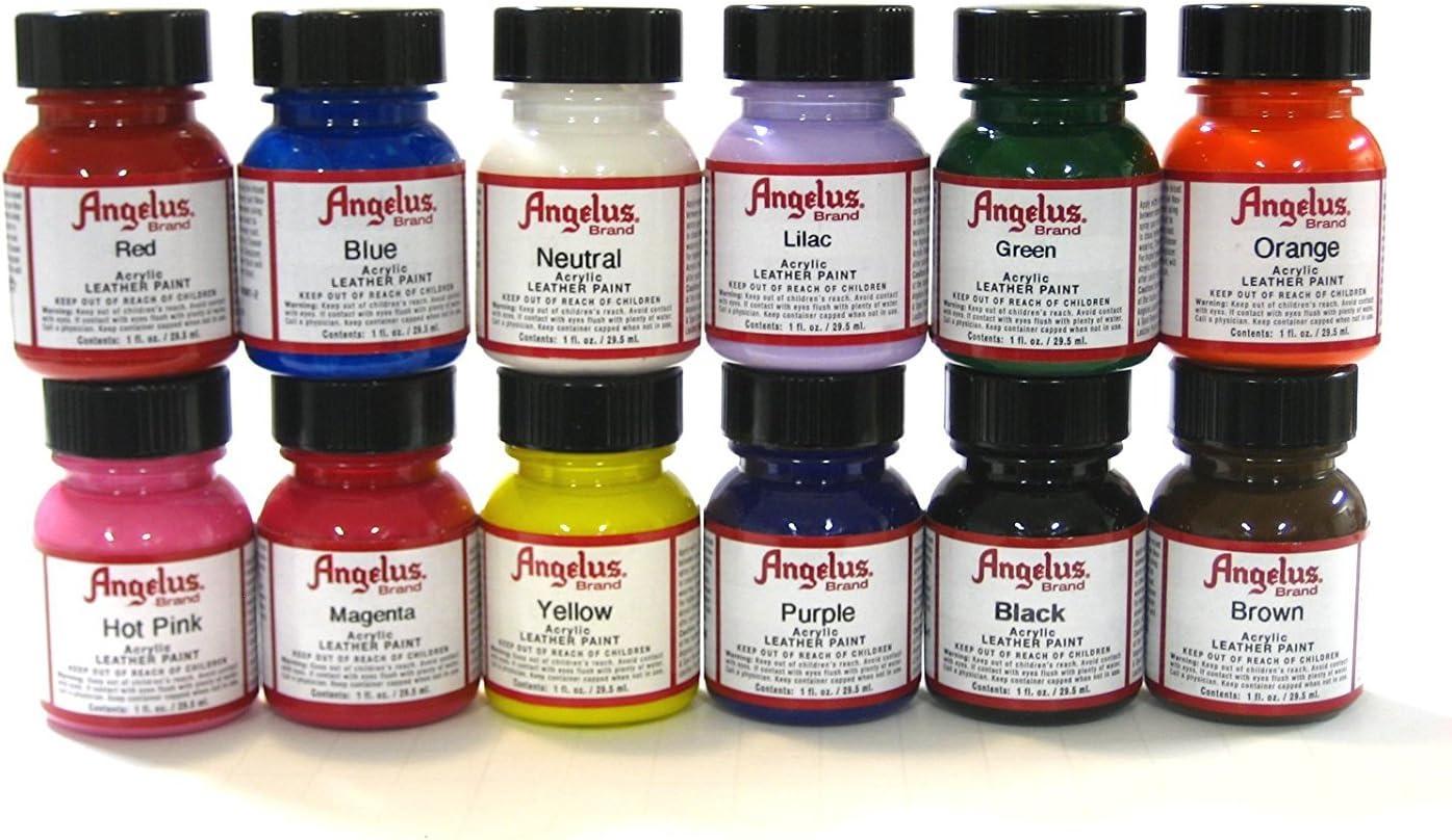 Angelus Brand Acrylic Paint Starter Kit