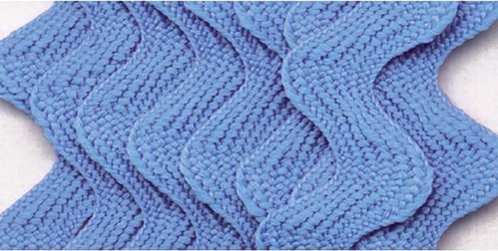 JUMBO RICK RACK TRIM 040 2 1//2 YARDS 5//8 WIDE WRIGHTS DELFT BLUE