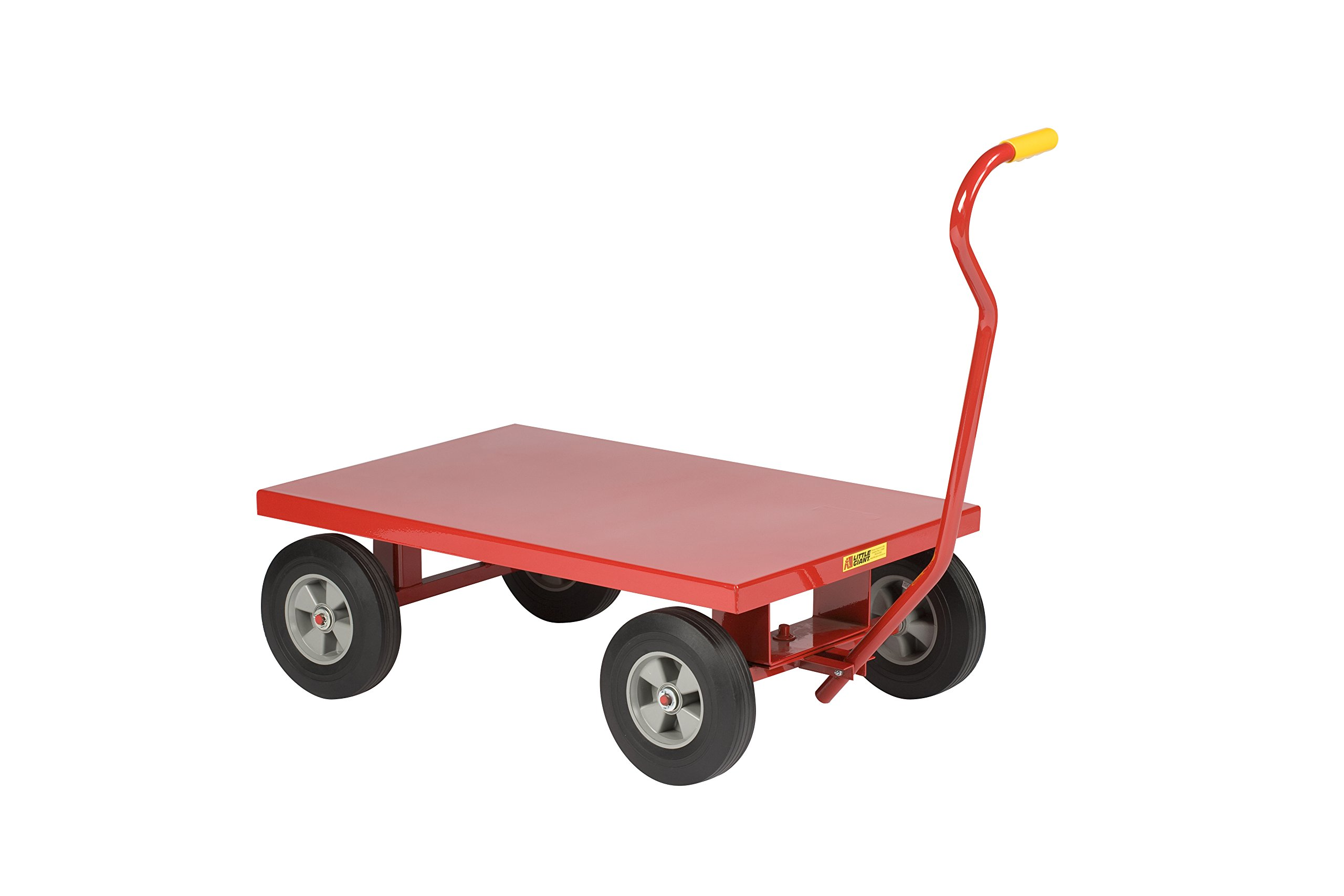 Little Giant LW2436-8S-FSD Wagon Truck, 24'' x 36'', Red