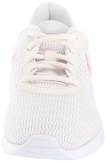 Nike Damen WMNS Tanjun Laufschuhe, Mehrfarbig (PhantomCrimson TintLight BoneWhite 008), 37.5 EU