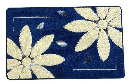 Set tappeti bagno antiscivolo 3pz fantasia cuori fiori fiore royal