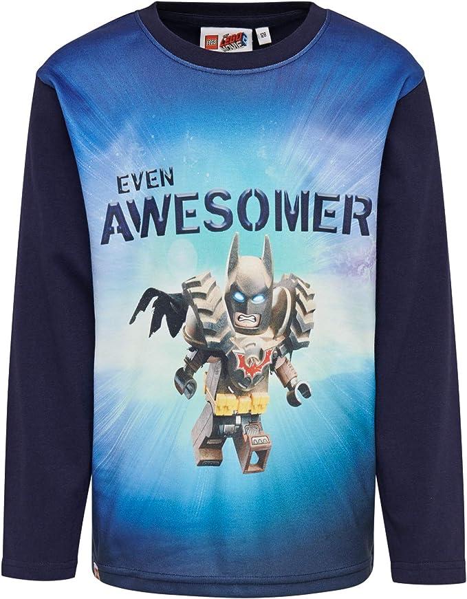 LEGO Batman Cm Camisa Manga Larga para Niños: Amazon.es: Ropa y accesorios