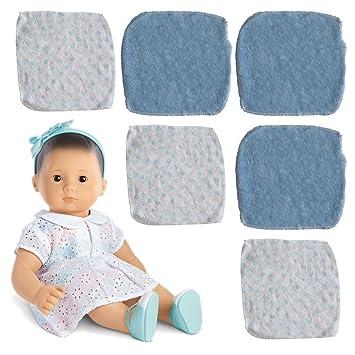 Toallas faciales para bebé, suave para la delicada piel del bebé. azul azul: Amazon.es: Bebé