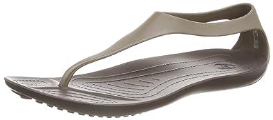 06194ee4830b4b Crocs Serena Flip Women Heels Sandals  Amazon.co.uk  Shoes   Bags