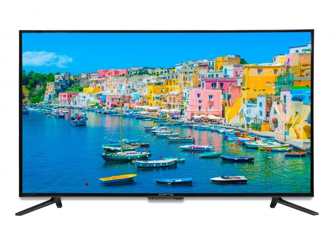 Sceptre UTV 55'' 4K Ultra-HDTV 3840x2160 U558CV-UMC 4X HDMI MEMC 120, Metal Black by Sceptre