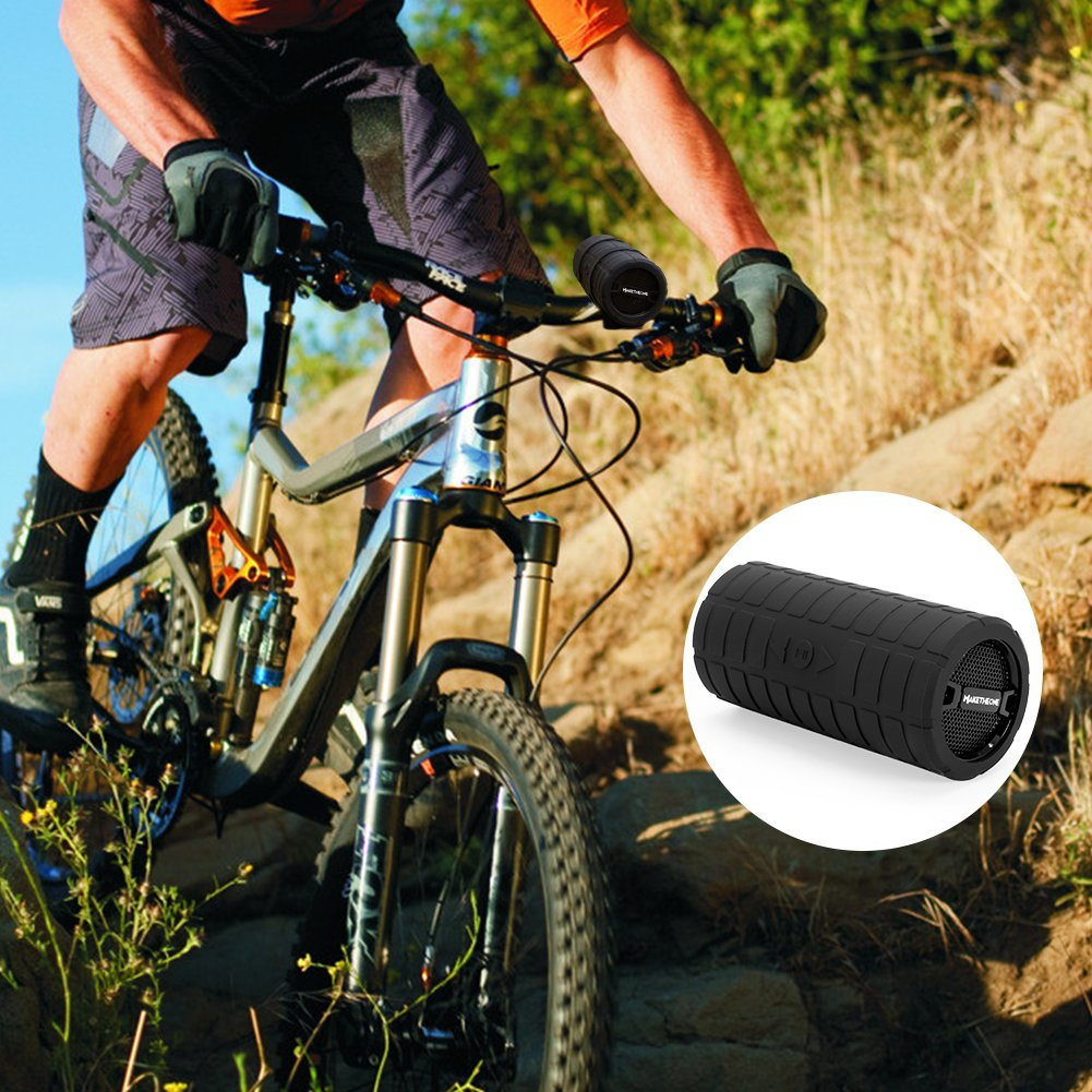 MakeTheOne Port/átil Altavoz Bluetooth Bicicleta Ciclismo impermeable inal/ámbrico Altavoces