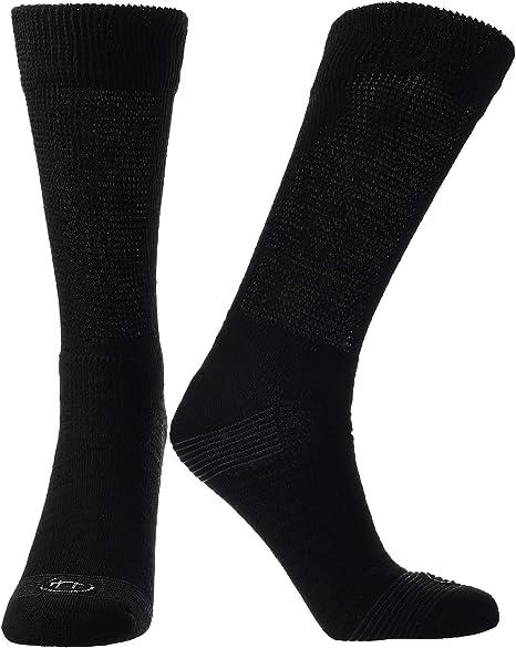 Men/'s Non-Binding CREW Socks Diabetics White or Black 2 Pair Size 10-13 Large