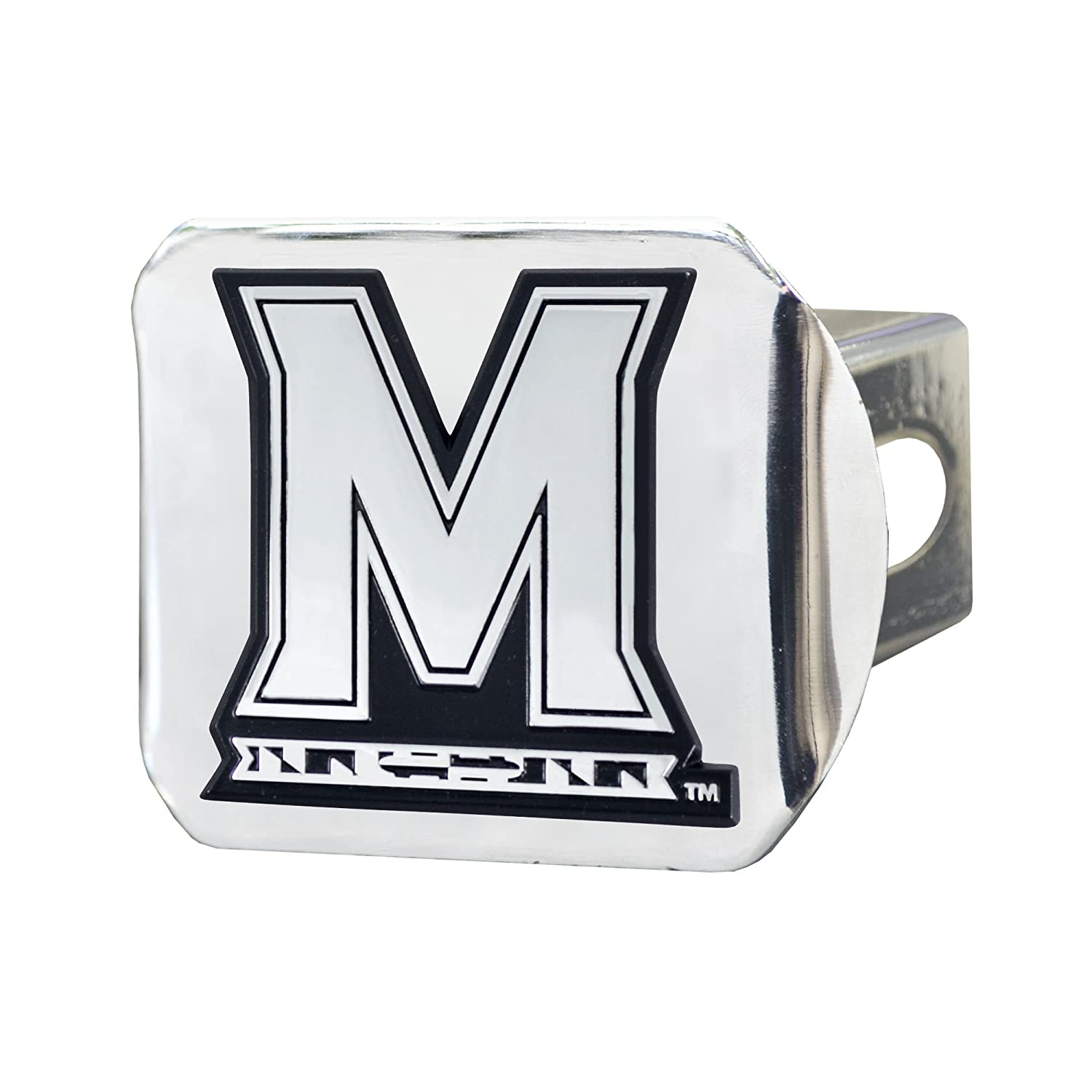 FANMATS NCAA University of Maryland Terrapins Chrome Hitch Cover
