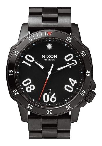 NIXON Reloj Analógico para Hombre de Cuarzo con Correa en Acero Inoxidable A506001: Amazon.es: Relojes
