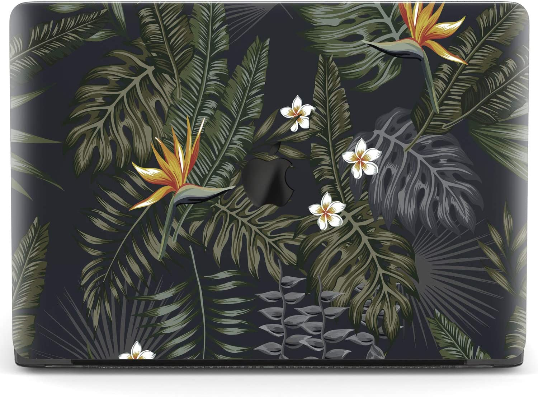 Mertak Hard Case for Apple MacBook Pro 16 Air 13 inch Mac 15 Retina 12 11 2020 2019 2018 2017 Flowers Design Print Plants Leaves Laptop Fronds Tropical Cover Rainforest Protective Plastic Touch Bar