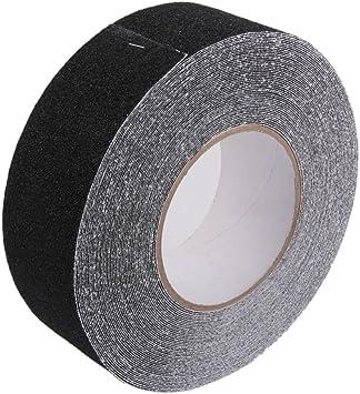 18m Rollo de Cinta Antideslizante Adhesiva Agarre de Seguridad para Baño Escalera 5cm: Amazon.es: Bricolaje y herramientas