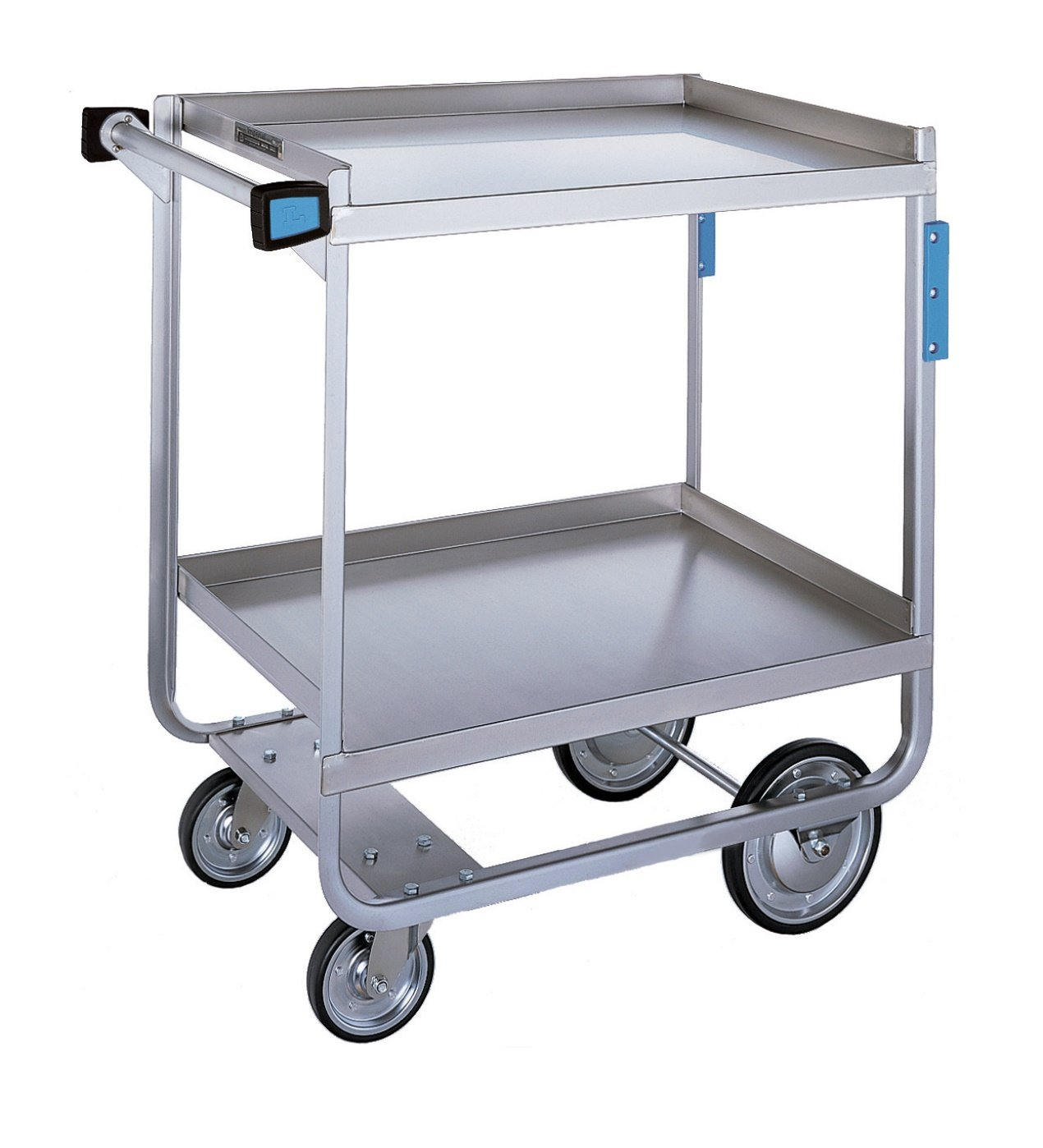 Lakeside 743 Heavy Duty Utility Cart, 2 Shelves, Stainless Steel, 700 lb Capacity, 22-3/8'' x 38-5/8'' x 37-1/8'' by Lakeside Manufacturing (Image #1)