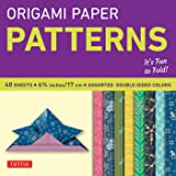 """Origami Paper Patterns 6 3/4"""" 48 Sheets (Origami Paper Packs)"""