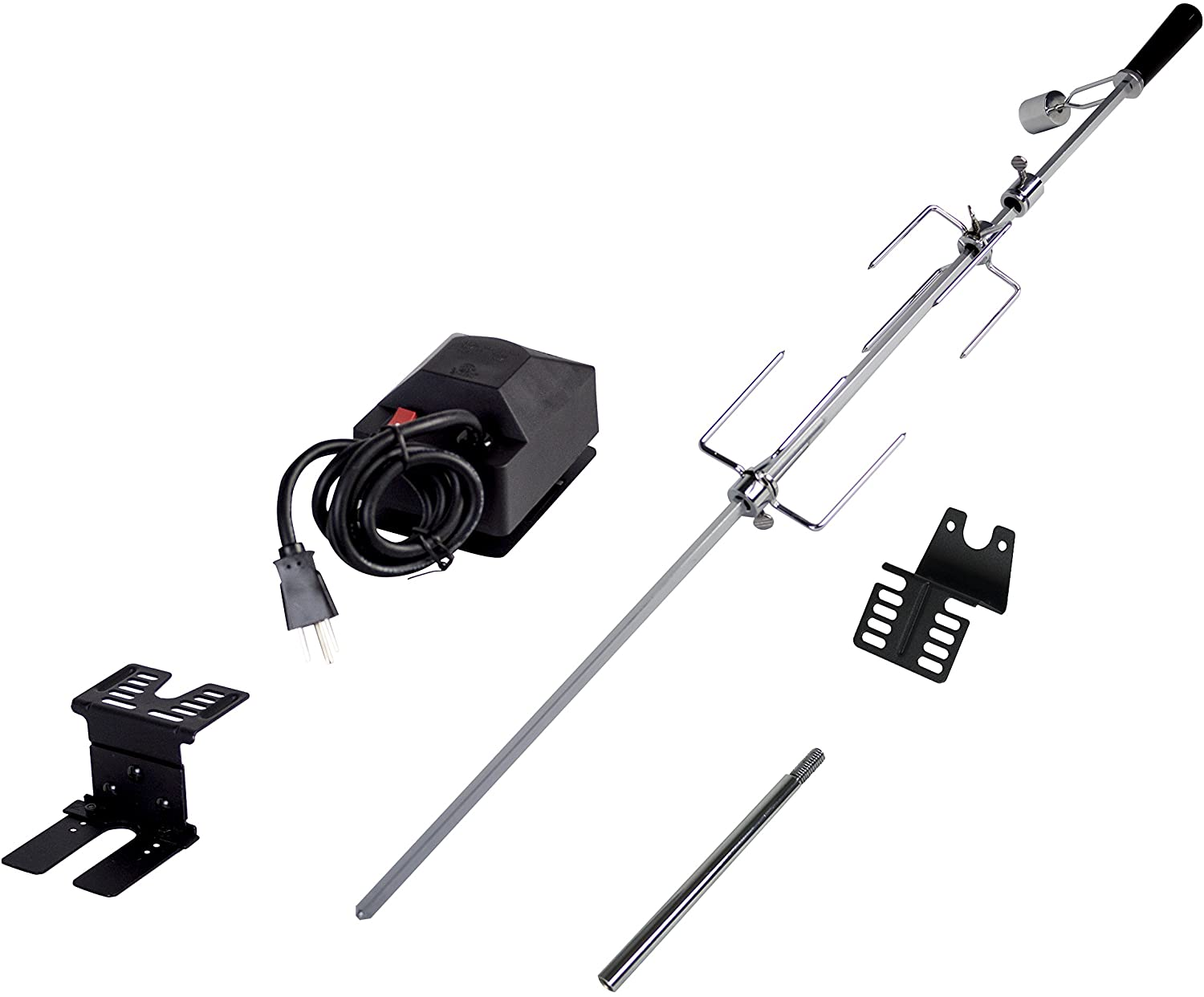 Dyna-Glo Universal Deluxe Rotisserie Kit for Grills : Garden & Outdoor