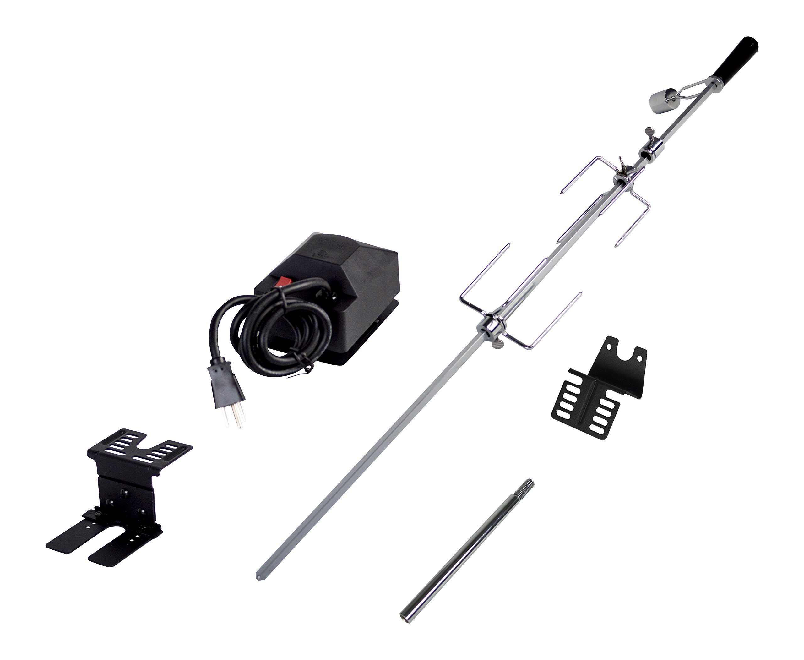 Dyna-Glo Universal Deluxe Rotisserie Kit for Grills by Dyna-Glo