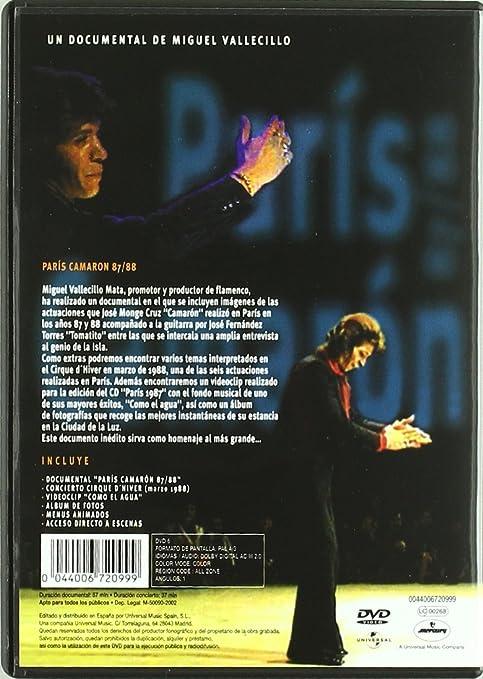 Camarón - Paris 87/88 [Francia] [DVD]: Amazon.es: Camarón de la Isla, Camarón de la Isla: Cine y Series TV