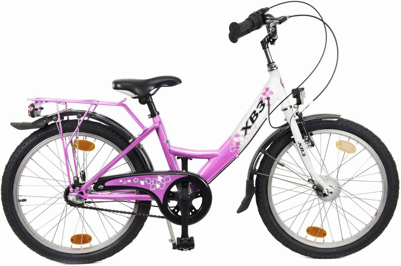 XB3 20 Pulgadas Bicicleta Infantil 25 Lux de Luces LED Dinamo de ...