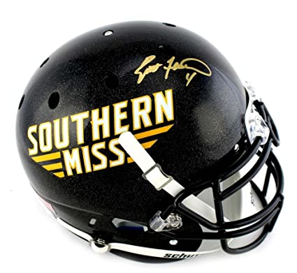 online store 7455a 28d2d Amazon.com: Brett Favre Signed Southern Mississippi Golden ...