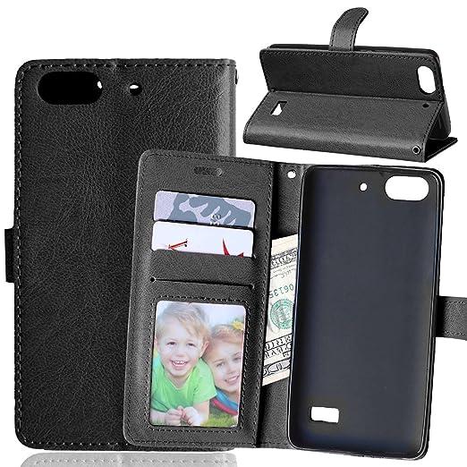 2 opinioni per Beiuns per Huawei G Play Mini (Honor 4C)(5 pollici) Custodia in ecopelle