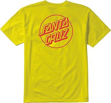 Emerica x Santa Cruz Logo Drop (Amarillo) Camiseta