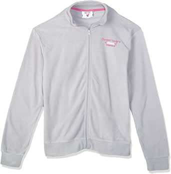 Sweet Years Zip Up Jacket For Women, Size L, Grey