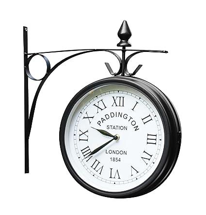 Outdoor Garden Clock   Paddington   27cm (10.5u0026quot;)