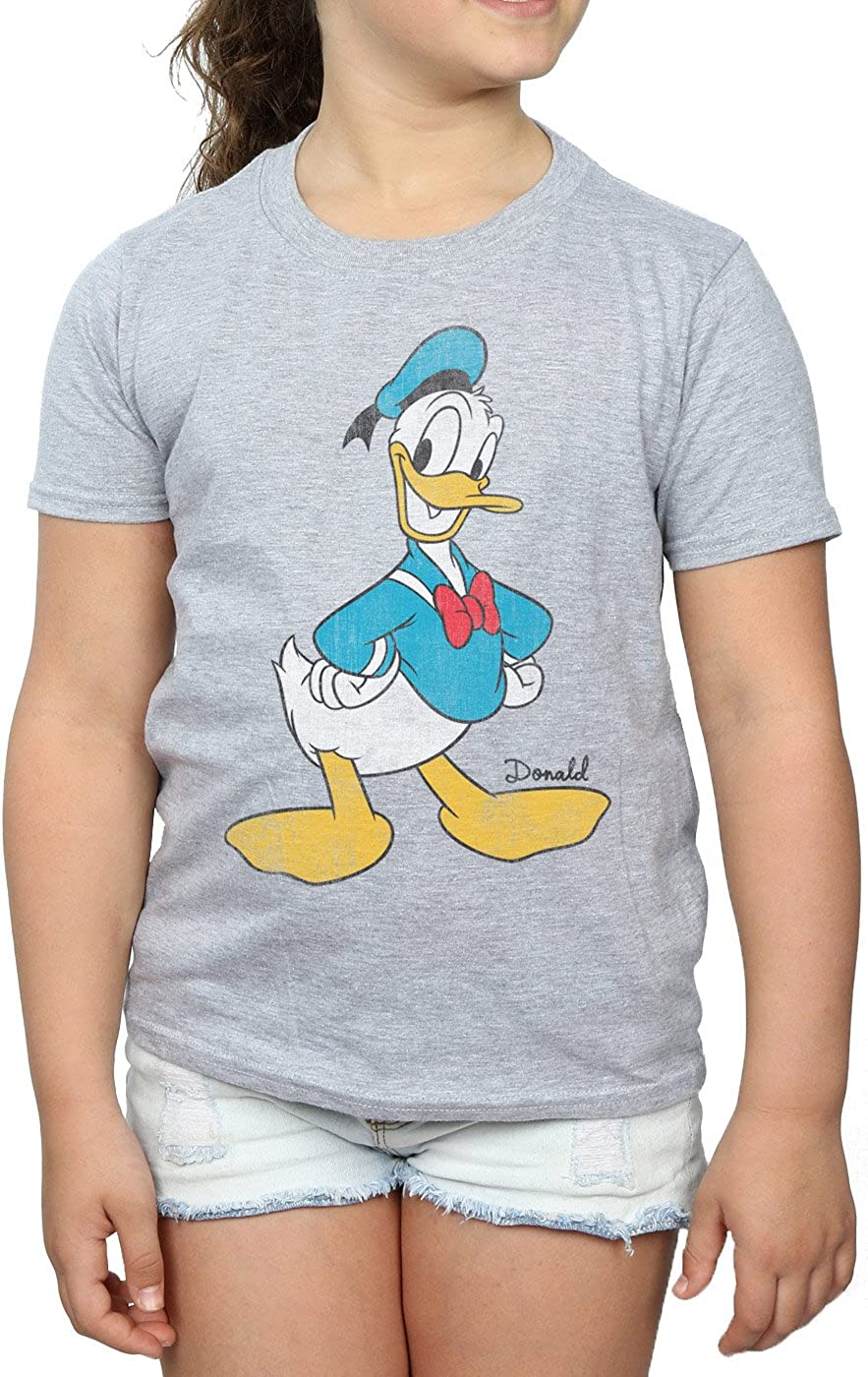 Disney Fille Mickey Mouse Classic Donald Duck T-Shirt